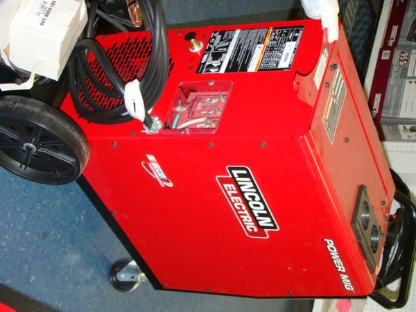 lincoln power mig 216 welding machine click to enlarge