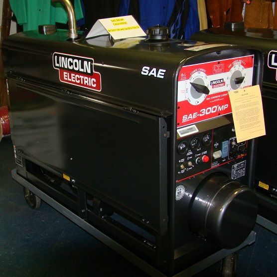 new lincoln k40891 sae 300 mp perkins welding machine