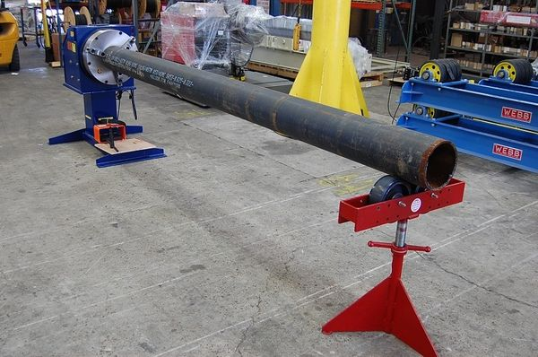 Bulldog Pipe Welding Positioner Capacity 3 000 Pounds