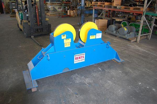 Outbound Support, Tank Turning Rolls | Capacity: 30,000 Pounds