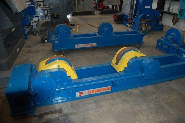 Ransome Tank Turning Rolls | Capacity: 800,000 Pounds