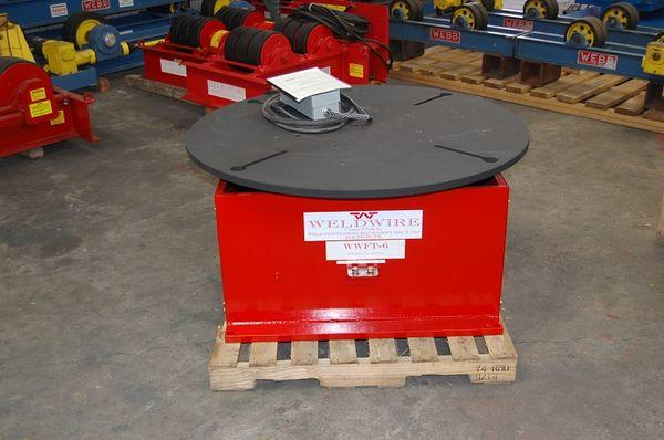 Weldwire Floor Turn Table, New | Capacity: 6,000 Pounds