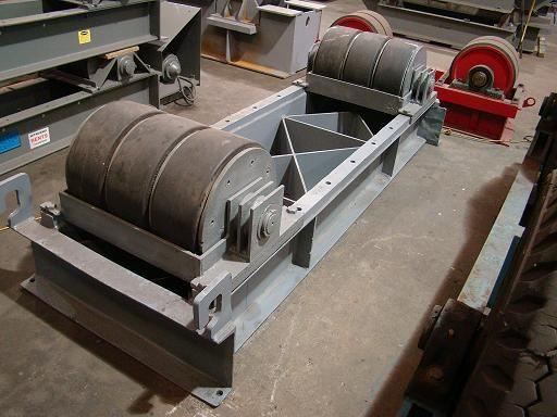 Aronson Idler, Tank Turning Rolls | Capacity: 320,000 Pounds
