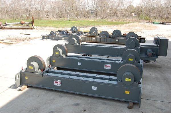 Teledyne Readco Tank Turning Rolls - Rental | Capacity: 800,000 Pounds