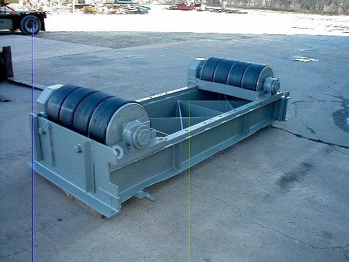 Aronson Idler Roll Rubber, Tank Turning Rolls | Capacity: 200,000 Pounds