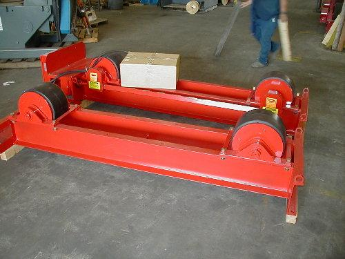 Tank Turning Rolls - New | Capacity: 40,000 Pounds