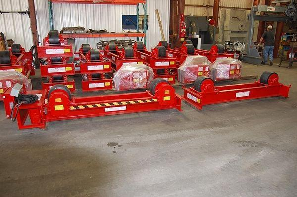 Weldwire Tank Turning Rolls - New | Capacity: 60,000 Pounds