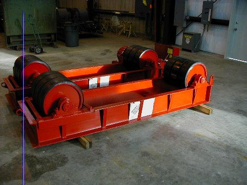 Ransome Tank Turning Rolls - New | Capacity: 180,000 Pounds