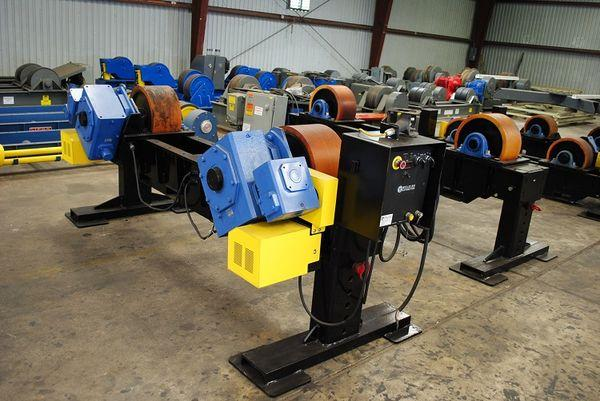 LJ Welding Turn Rolls - Used | Capacity: 80,000 Pounds
