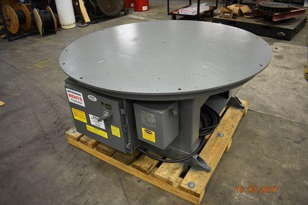 Floor Turntables | Welding Turntables | Floor Turntable Rentals