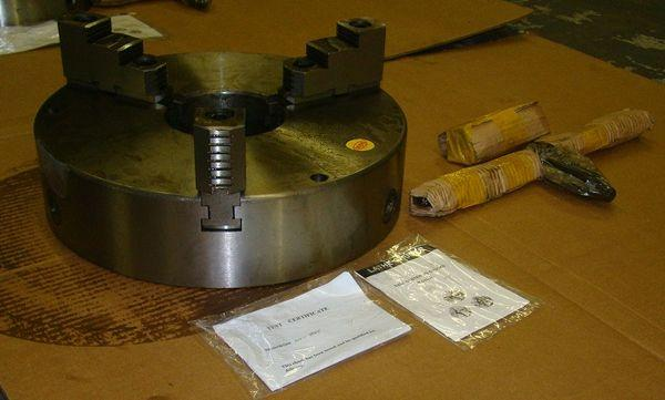 "16"" NEW 3-Jaw Self Centering Welding Chuck"