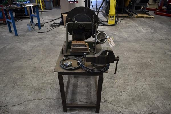 Used Ransome 300Lb Welding Positioner with Chuck