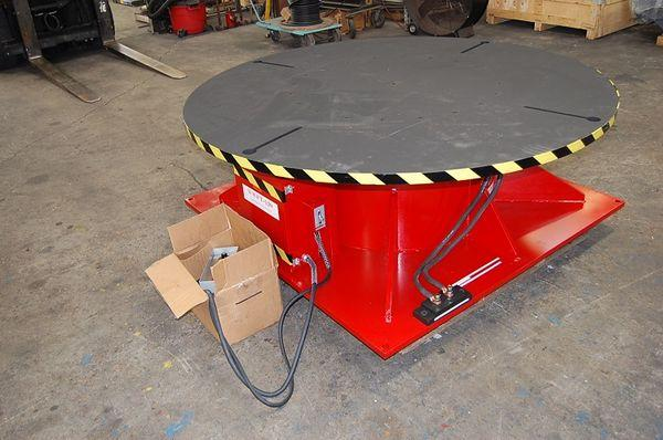 Weldwire Floor Turntable, Used | Capacity: 120,000 Pounds