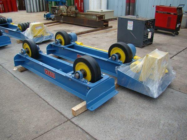 Webb Tank Turning Rolls T18 - New | Capacity: 20,000 Pounds