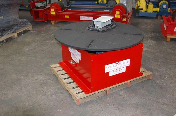 New Weldwire Floor Turn Table: 6,000 Lbs