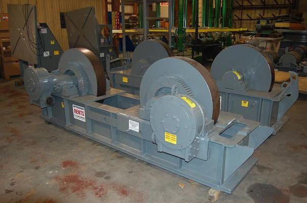Ransome Idlers, Tank Turning Rolls | Capacity: 300,000 Pounds