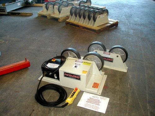 LB Piper 3 Pipe Turning Rolls - New | Capacity: 4,000 Pounds