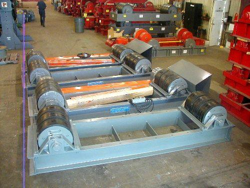 Preston Eastin, Rotators, Tank Turning Rolls | Capacity: 240,000 Pounds