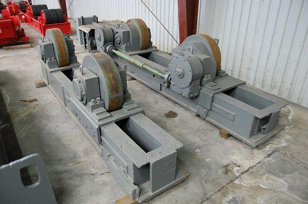 Ransome Tank Turning Rolls - Used | Capacity: 300,000 Pounds
